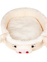 Lovable Pig Style Beds with Cushion for Small P... – USD $ 27.85