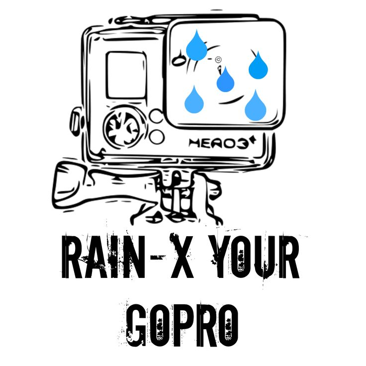 Rain-X your GoPro housing to get rid of unsightly water drops on your footage! GoPro tips, GoPro Hero 3+
