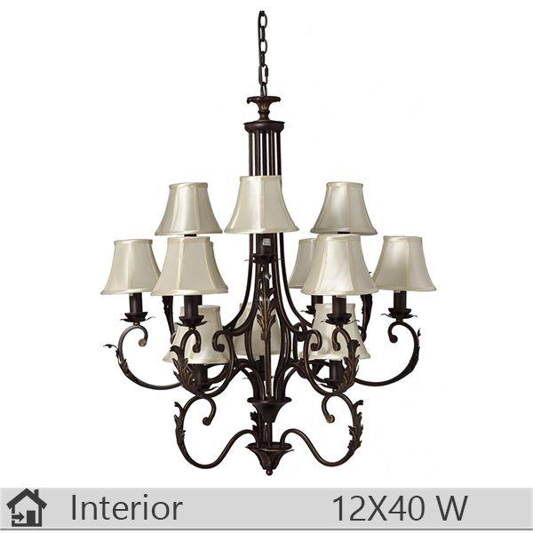 Candelabru iluminat decorativ interior Klausen, gama Monarch, model nr12