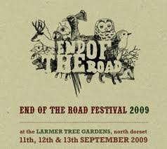 END OF THE ROAD FESTIVAL POSTER -