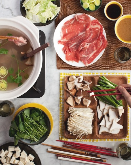 """Hot pot!! No more """"Westernized"""" Chinese fondue. This is the real deal. :-)"""