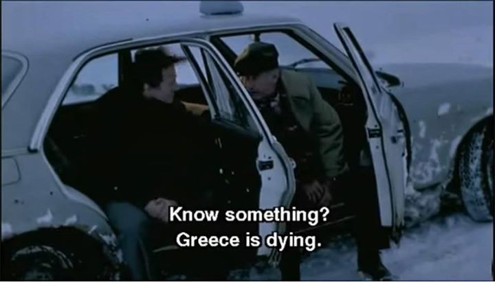 Ulysses' Gaze (1995)  by Theo Angelopoulos. #TheodorosAngelopoulos #ToninoGuerra  #HarveyKeitel #MaiaMorgenstern #ErlandJosephson #cinema #cinematheia Theodoros Angelopoulos on Cinema --> http://ift.tt/204iifP