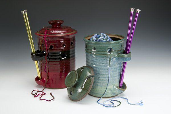 Yarn bowl pottery