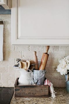 I love simplicity and minimalism in a home, but I also love layers and bits of character throughout.