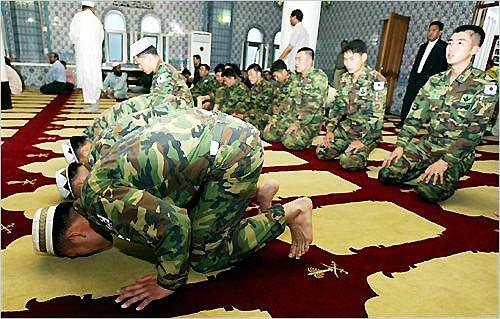 Korean Muslim soldiers