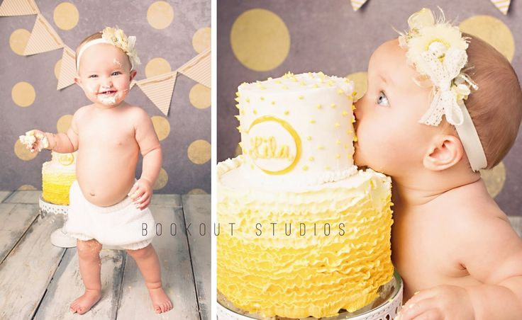 Cuter than Cute One Year Old Birthday Pictures in Huntsville, AL - Bookout Studios Blog