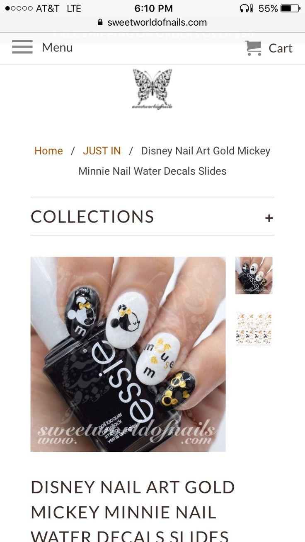 The 31 best Disney Nail Ideas images on Pinterest | Disney nails ...