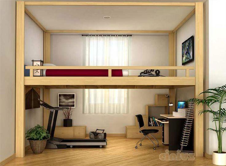 20 best Soppalco Rising (Rising loft-bed) images on Pinterest ...