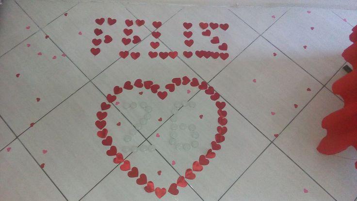 DIY Aniversário Romântico Surpresa   Vídeo no Canal: Nillmag Rocha