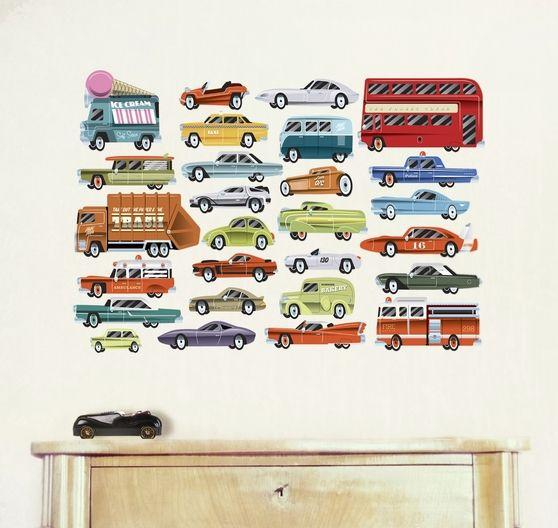 Naklejka tkanina na ścianę 'Highway S'
