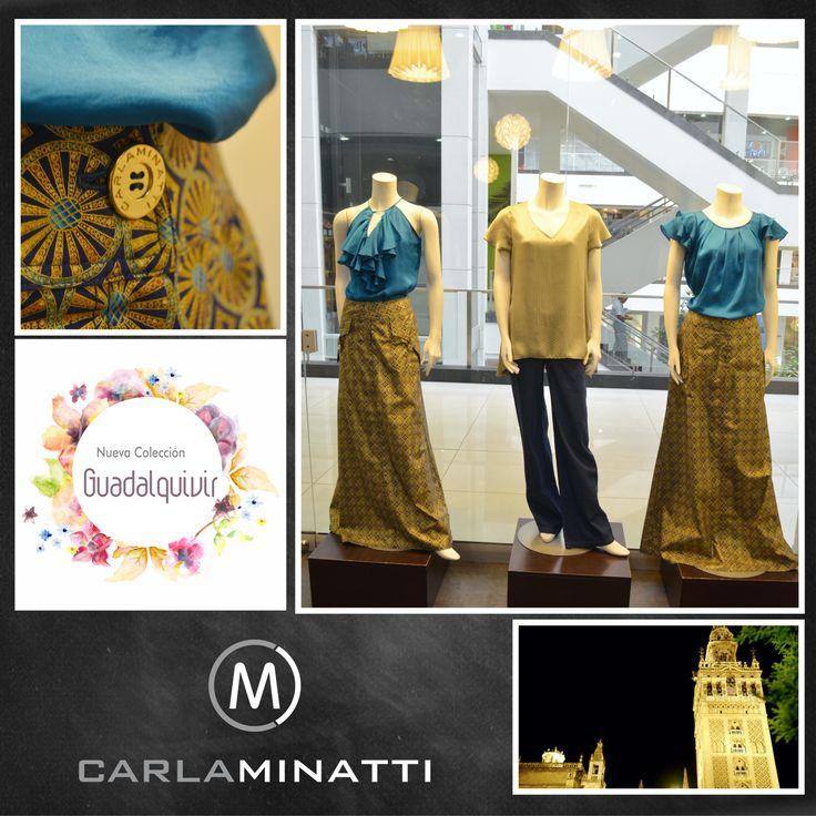 El dorado tan característico de la herencia arabe a orillas del Guadalquivir, es un color vital en nuestra nueva colección.