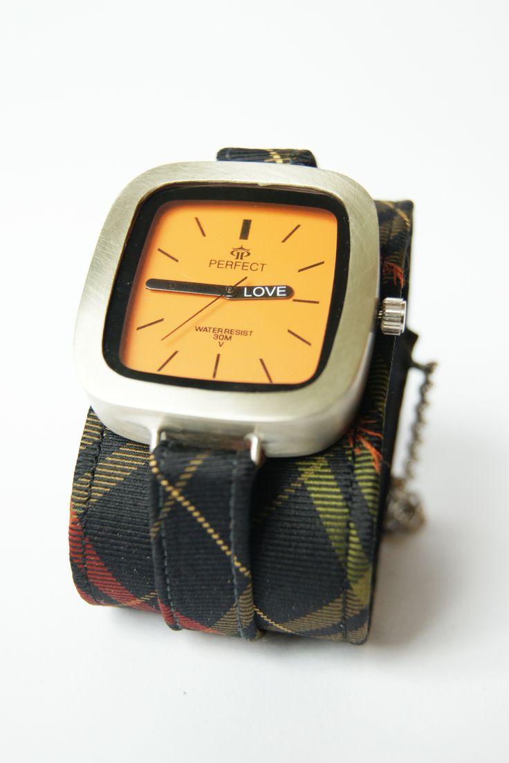 handmade watch, bracelet with tie by kahuna-aRT