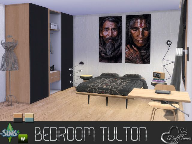 Sims 4 CC's - The Best: Bedroom by BuffSumm