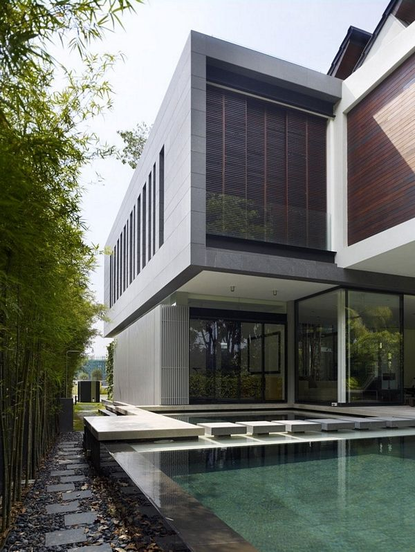 Contemporary Home In Singapore By ONG