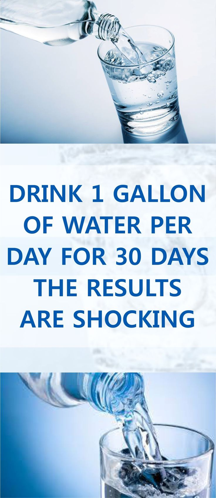 Do you know What will happen to your Body If you Decide to Drink 1 Gallon of Water for 30 days in a Row, I guess you don't So you better Check ASAP ! Pin this Article