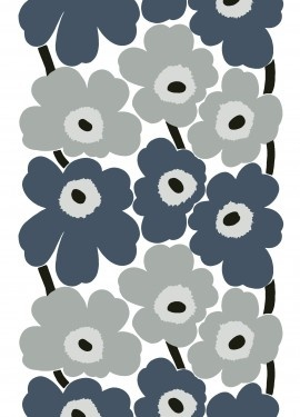Unikko fabric   Cotton Fabrics   Marimekko