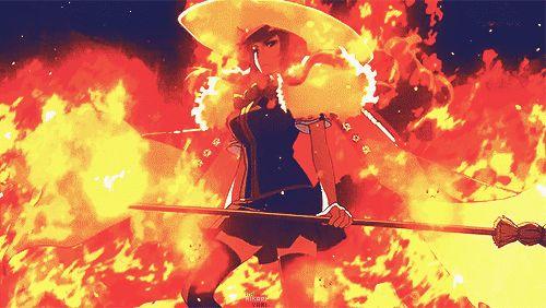 Ayaka Kagari on Fire