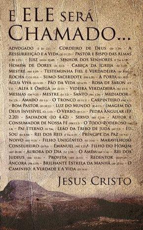 Ministério Vivo Deus Vivo: OS NOMES DE DEUS