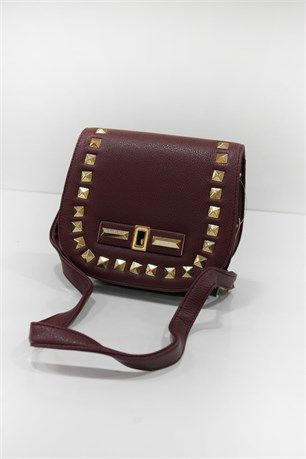 Zımba Modelli Çanta - Bordo - Can Bag çanta modelleri, sırt çantası, yılan derisi, tutmalı çanta, çanta markaala.com.tr #moda #fashion #diy #tesettür #çanta