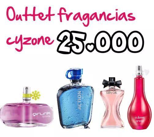 Promocion de perfumes cyzone, el precio es negociable