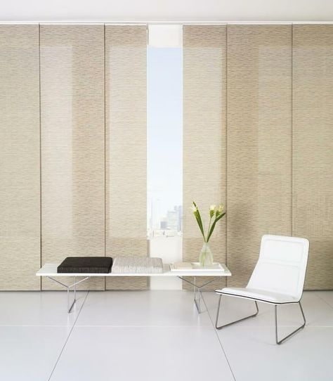 IKEA Sliding Panel Curtains