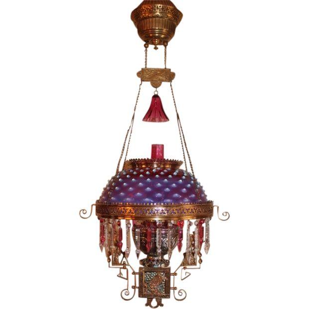 91 best Antique Victorian Banquet Lamps images on Pinterest ...