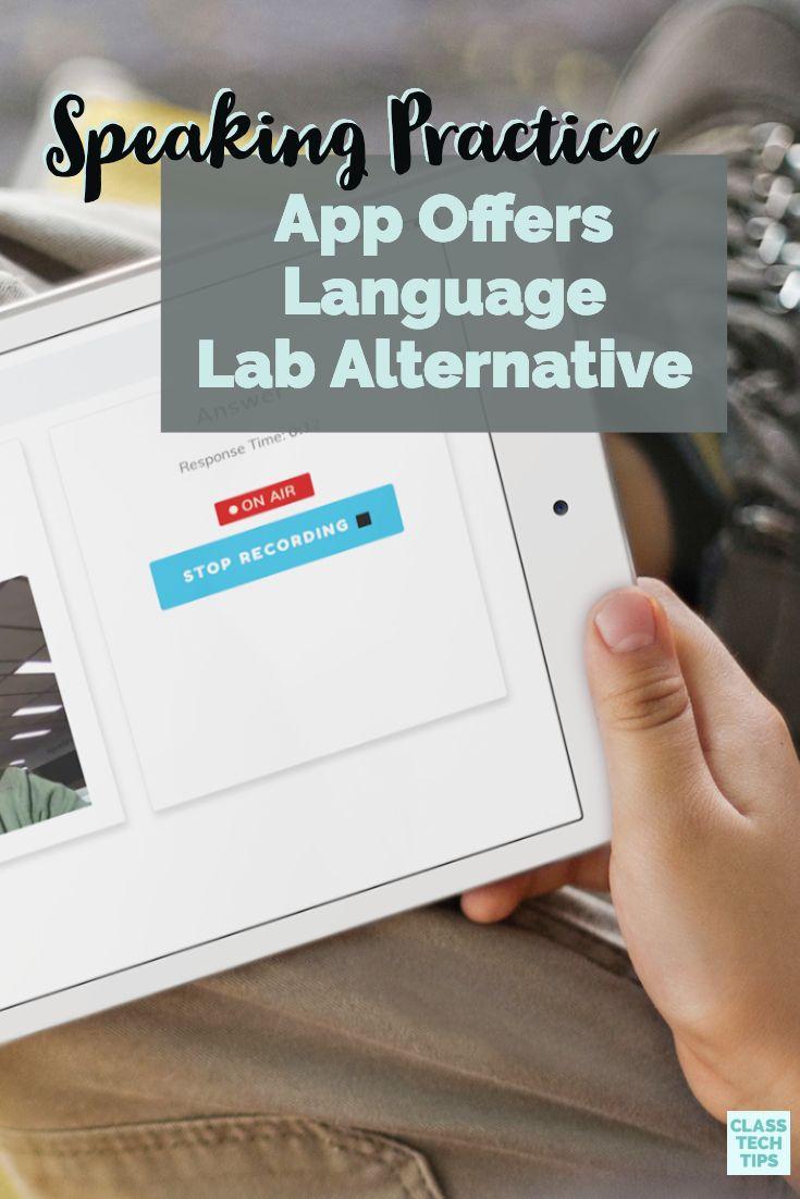 Speaking Practice App Offers Language Lab Alternative
