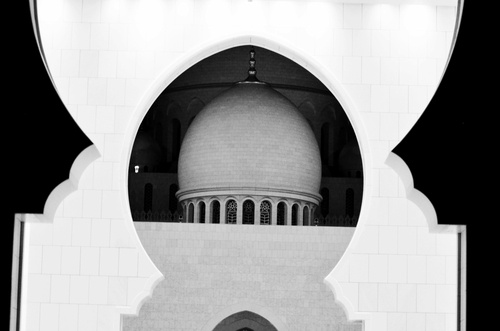 Dome - Grand Mosque Abu Dhabi / Sheikh Zayed Mosque  - www.lionofAllah.com