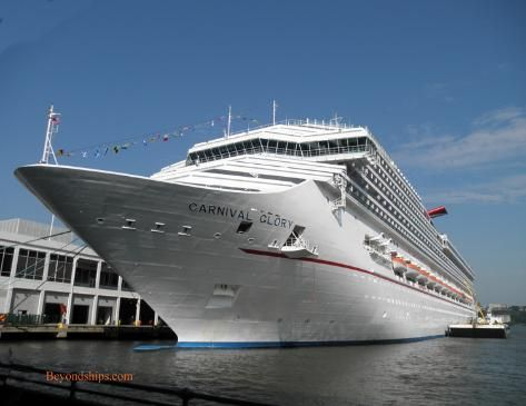 Carnival Glory profile with photo tour, officer interviews ...
