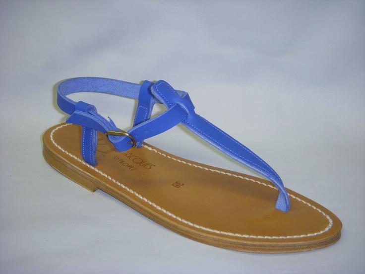 Kjacques sandals made in Saint Tropez  .. already worn by Romy Schneider and Brigitte Bardot