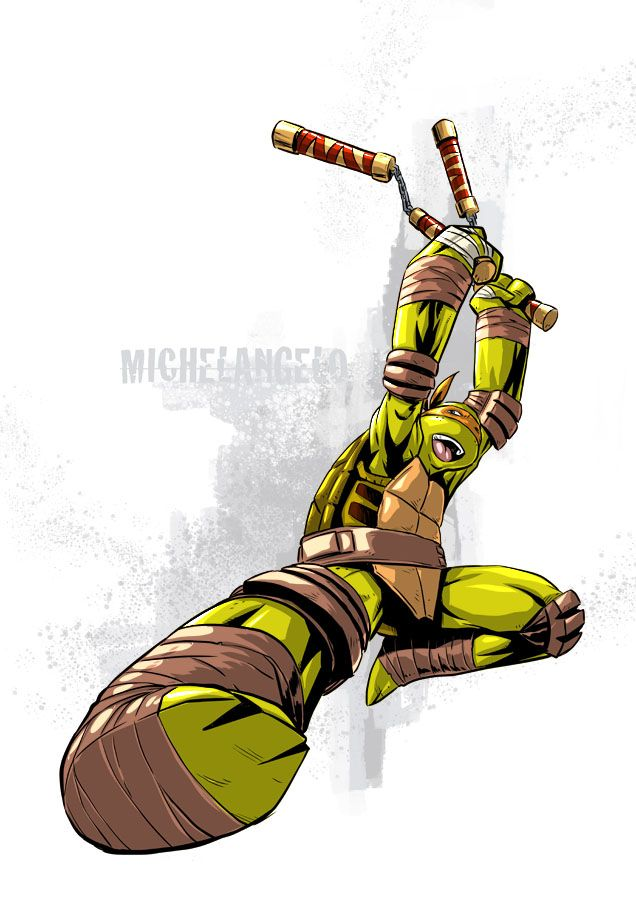 Tmnt Mike by deemonproductions.deviantart.com on @DeviantArt