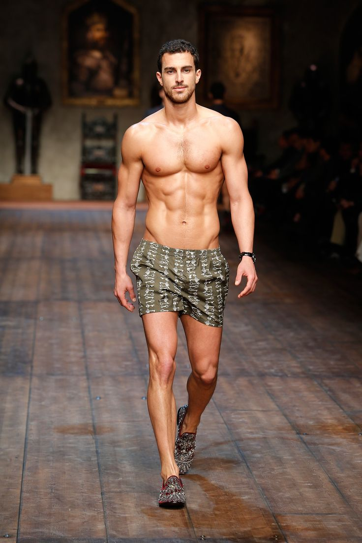 Under Wearing Men Fashion Show Dolce amp Gabbana Fashion Show