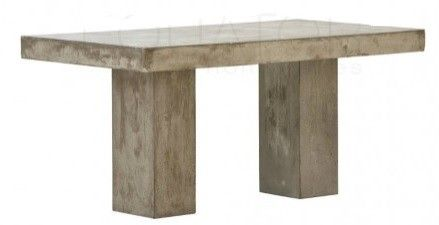 Light Weight Concrete Dining Table. 200cm long
