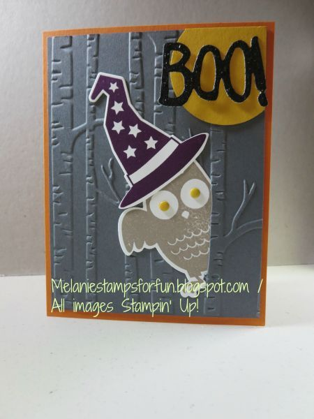 Halloween Owl - Stampin' Connection