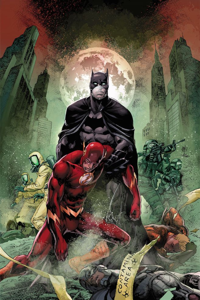 Justice League #35 - Joe Prado and Ivan Reis