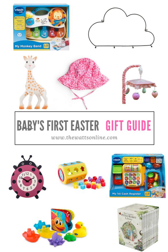 I have created a baby's first Easter gift guide.