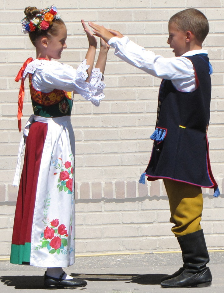 Polish dancers tell a story