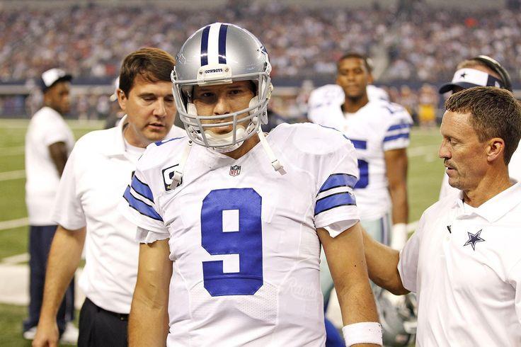 Week 8: on 10-27-14 Dallas Cowboys Tony Romo injured