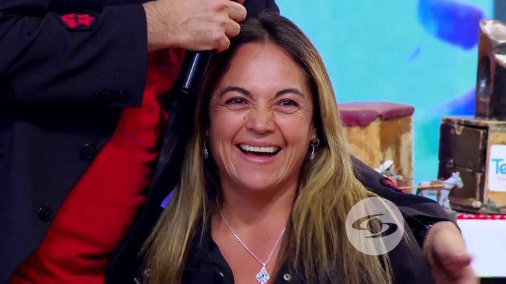 Jeringa acepta el reto de Suso e imita a Laura en América | Caracol Tele...