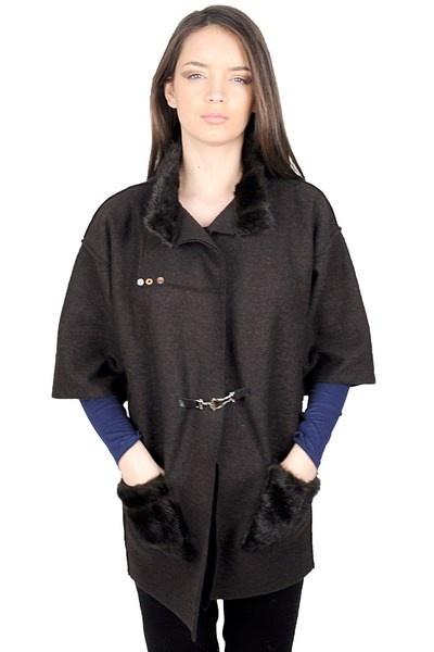 Cardigan din lana cu blanita RVL