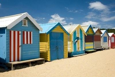 Phillip Minnis - Beach Houses Melbourne, Victoria, Australia #SunSandSea