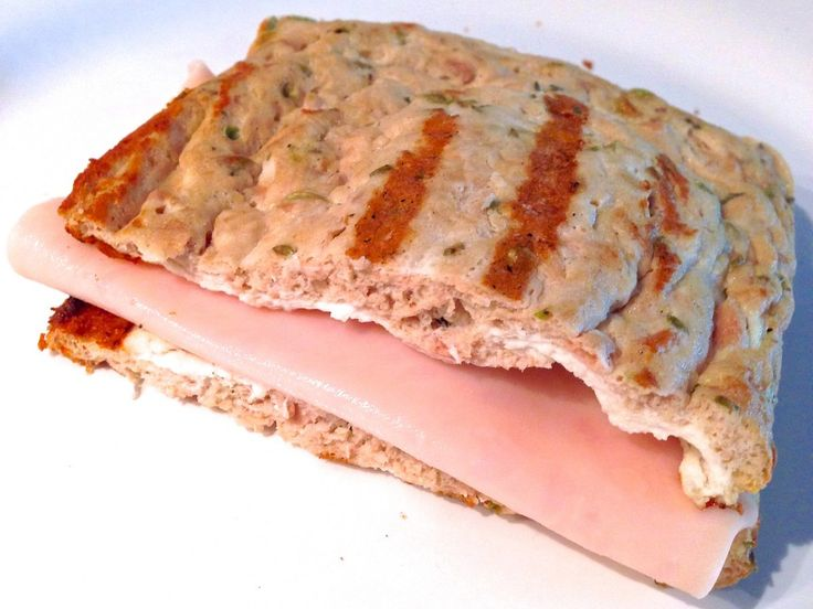 RECETA FITNESS/ Sandwich sin hidratos & sin grasa