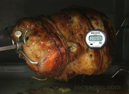 Rotisserie Grilling Doneness Guide - How To Cooking Tips - RecipeTips.com