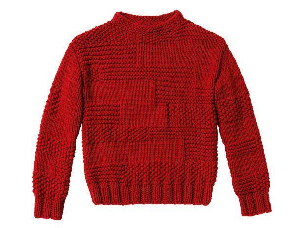 Strickmuster: Pullover im Mustermix stricken - eine Anleitung ...