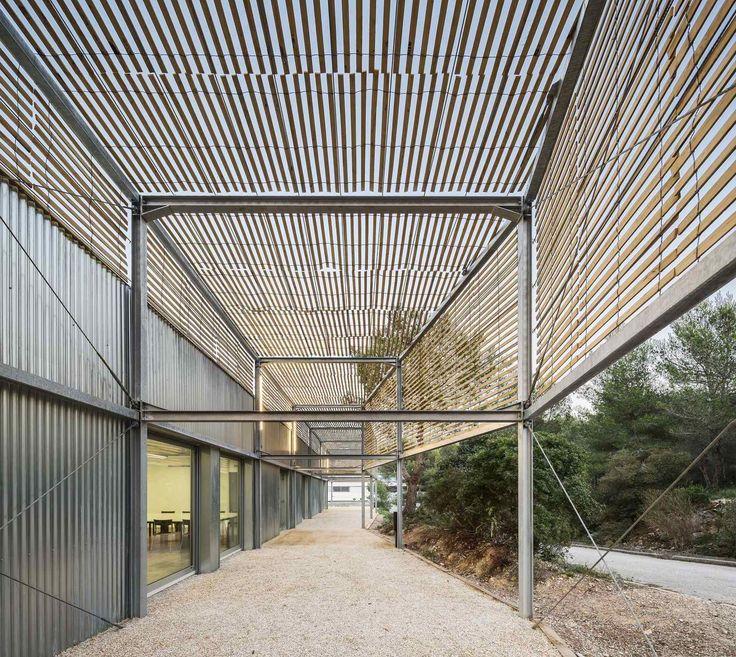 Architekturhochschule in Marseille von PAN / Laubengang total - Architektur und Architekten - News / Meldungen / Nachrichten - BauNetz.de