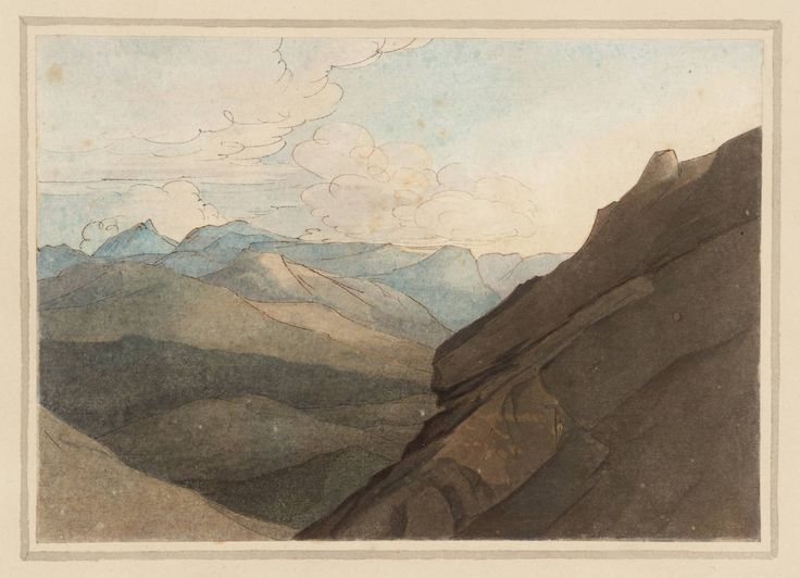 Francis Towne 'Top of the Splügen Pass. I', date not known