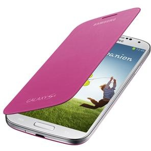 Samsung Flip Cover Galaxy S4 Pink