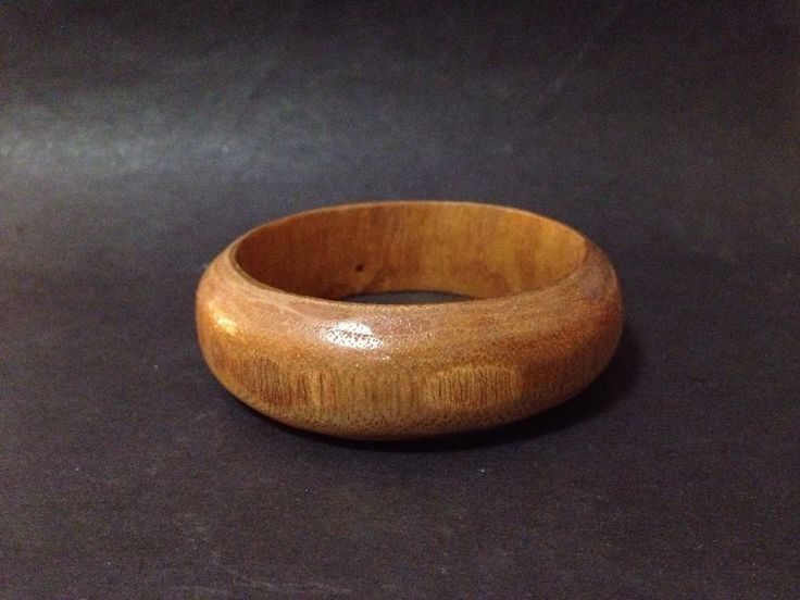Estate Find - Vintage Pre Owned Wood Lacquered Bangle