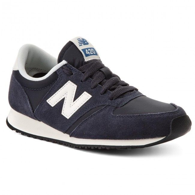 Sneakersy New Balance U420nvb Granatowy Sneakers Shoes Sneakers Adidas New Balance