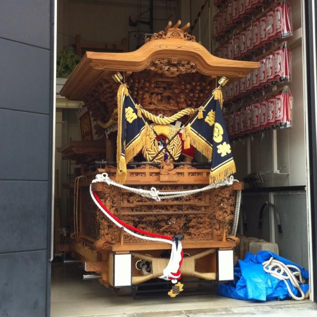 岸和田だんじり祭り。